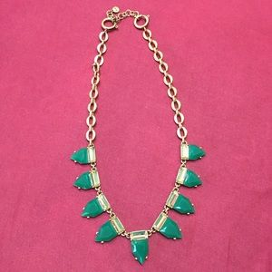 Stella & Dot Eye Candy Necklace in Emerald